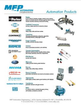 Automation Product Catalog Michigan