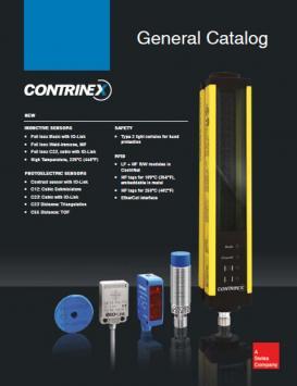 Contrinex Catalog Michigan
