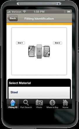 Parker Fittingfinder App Michigan Automation