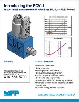 Pcv 1 Proptional Pressure Products Michigan Automation