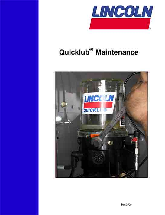 Quicklub Maintenance