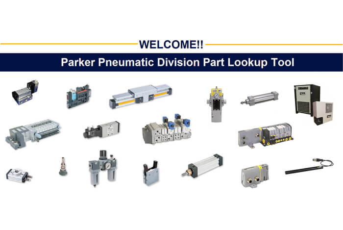 Parker Pneumatic Division Lookup Tool